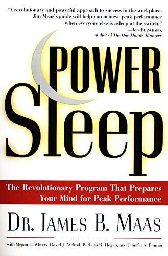 James B. Maas Power Sleep The Revolutionary Program That Prepares Your Mind
