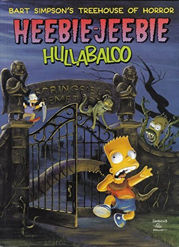 Matt Groening Bart Simpson's Treehouse Of Horror Heebie Jeebie H