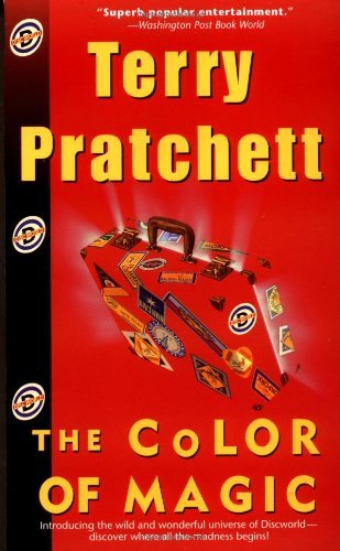 Terry Pratchett Color Of Magic The