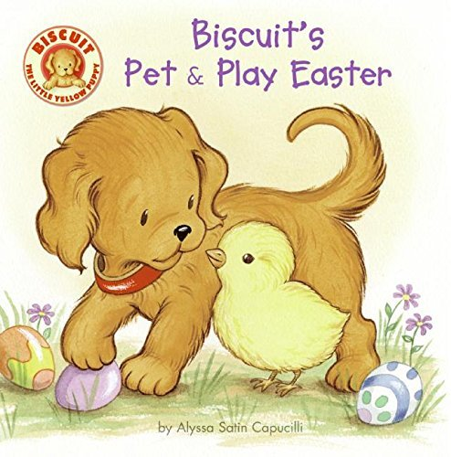 Alyssa Satin Capucilli Biscuit's Pet & Play Easter