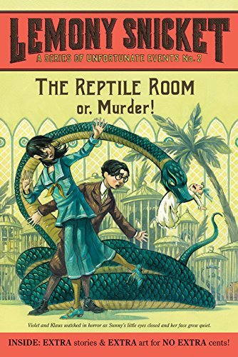 Lemony Snicket A Series Of Unfortunate Events #2 The Reptile Room