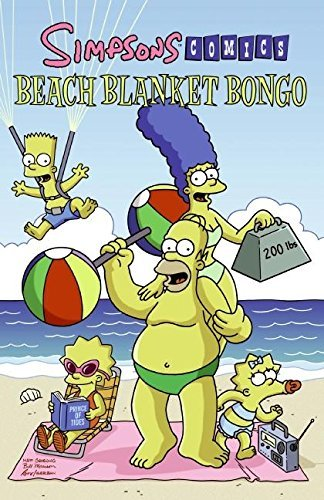 Matt Groening Simpsons Comics Beach Blanket Bongo