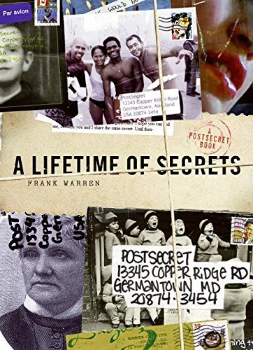 Frank Warren A Lifetime Of Secrets A Postsecret Book