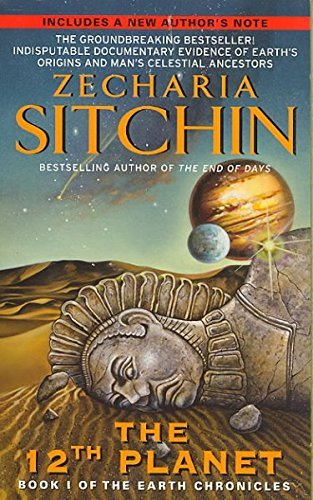 Zecharia Sitchin 12th Planet Book I Of The Earth Chronicles 0030 Edition;