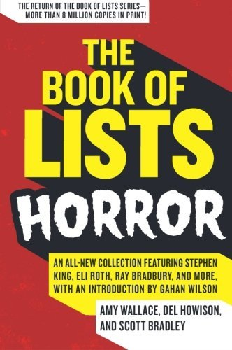 Amy Wallace The Book Of Lists Horror