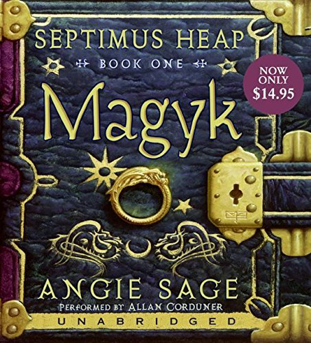 Angie Sage Septimus Heap Book One Magyk Low Price CD