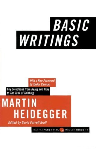Martin Heidegger Basic Writings Revised Expand