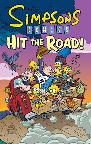 Matt Groening Simpsons Comics Hit The Road!