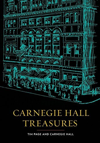 Tim Page Carnegie Hall Treasures [with Memorabilia]