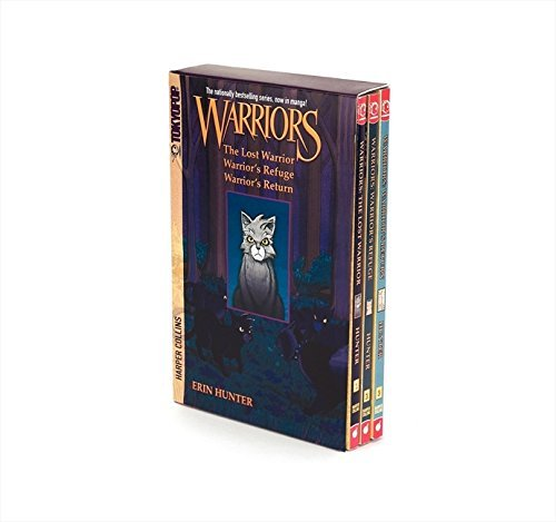 Erin Hunter Warriors Manga Box Set Graystripe's Adventure