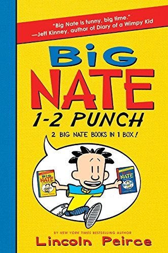 Lincoln Peirce Big Nate 1 2 Punch 2 Big Nate Books In 1 Box! Includes Big Nate And