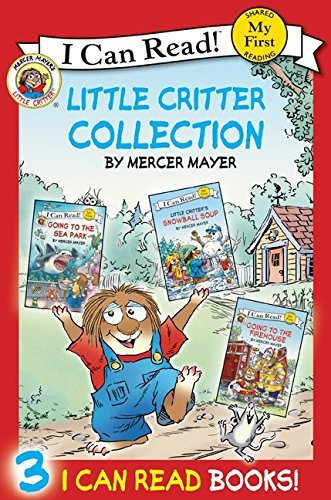 Mercer Mayer Little Critter Collection Going To The Firehouse Going To The Sea Park Snow