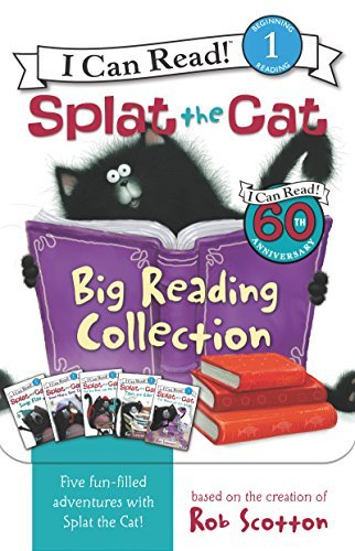 Rob Scotton Splat The Cat Big Reading Collection