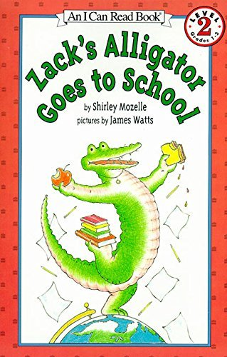 Shirley Mozelle Zack's Alligator Goes To School
