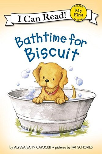 Alyssa Satin Capucilli Bathtime For Biscuit