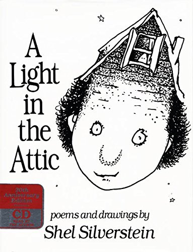 Shel Silverstein A Light In The Attic Book And CD [with Cd] 0020 Edition;anniversary