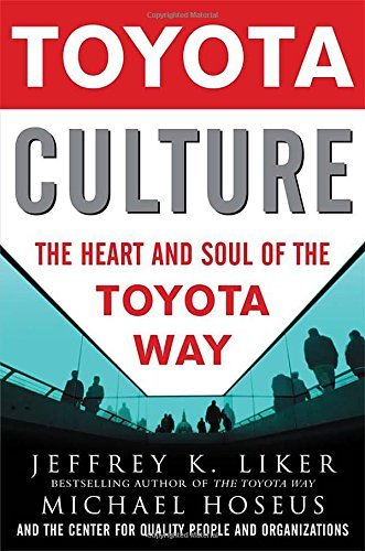 Jeffrey K. Liker Toyota Culture The Heart And Soul Of The Toyota Way