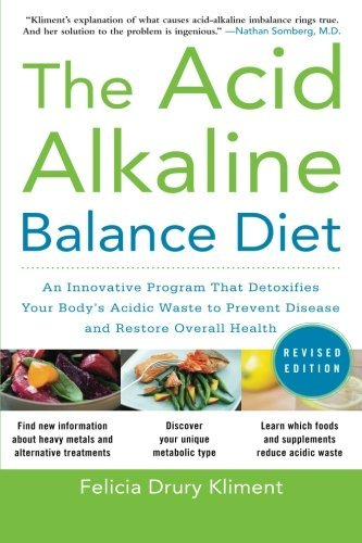 Felicia Drury Kliment The Acid Alkaline Balance Diet Second Edition An Innovative Program That Detoxifies Your Body's Revised