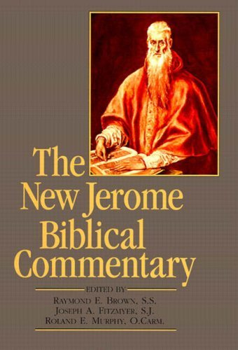 Raymond E. Brown New Jerome Biblical Commentary The (paperback Rep 0003 Edition;revised