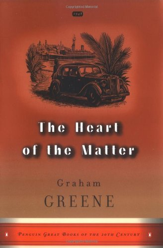 Graham Greene Heart Of The Matter The (great Books Edition) Large Print