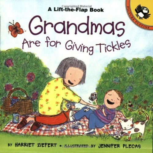 Harriet Ziefert Grandmas Are For Giving Tickles 1998. Corr. 2nd