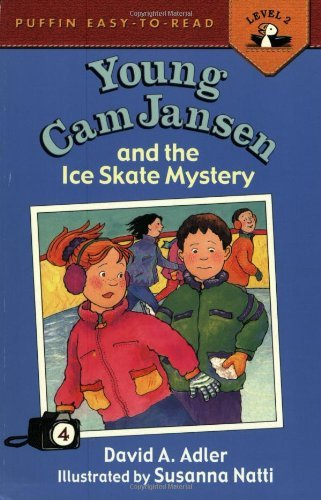 David A. Adler Young Cam Jansen And The Ice Skate Mystery