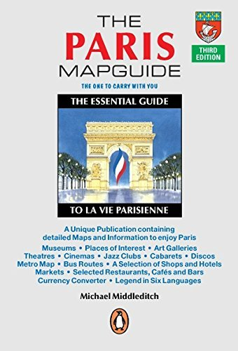 Michael Middleditch The Paris Mapguide The Essential Guide La Vie Parisienne 0005 Edition;
