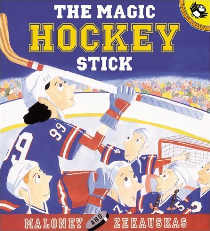 Peter Maloney The Magic Hockey Stick