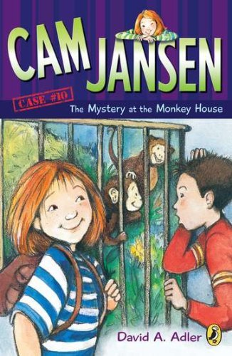 David A. Adler Cam Jansen The Mystery Of The Monkey House #10
