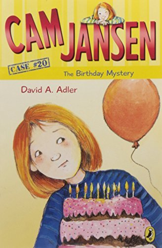 David A. Adler Cam Jansen The Birthday Mystery #20