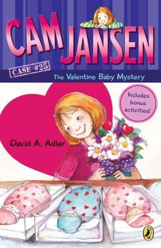 David A. Adler Cam Jansen Cam Jansen And The Valentine Baby Mystery #25 0025 Edition;anniversary