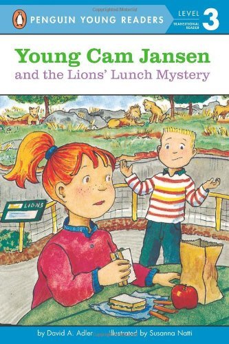 David A. Adler Young Cam Jansen And The Lions' Lunch Mystery