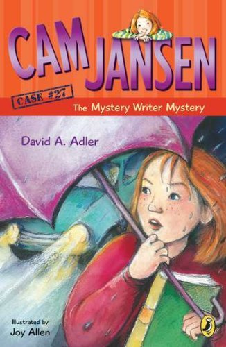 David A. Adler Cam Jansen And The Mystery Writer Mystery