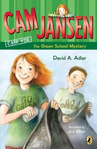David A. Adler Cam Jansen And The Green School Mystery