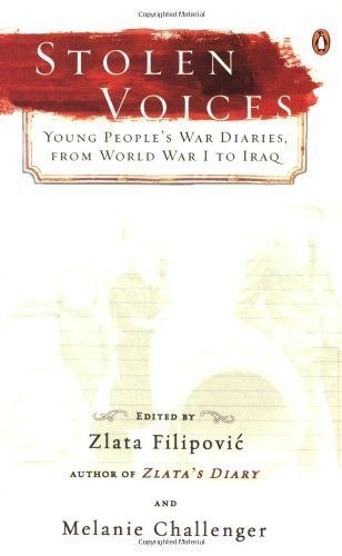 Zlata Filipovic Stolen Voices Young People's War Diaries From World War I To I