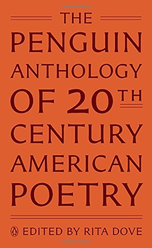 Rita Dove The Penguin Anthology Of Twentieth Century America