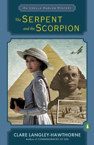 Clare Langley Hawthorne The Serpent And The Scorpion An Ursula Marlow Mystery