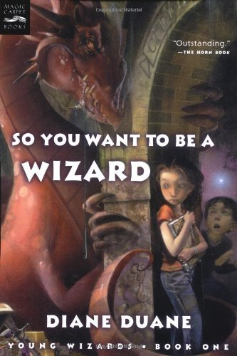 Diane Duane So You Want To Be A Wizard (digest) Young Wizards Book One 2003. Corr. 2nd