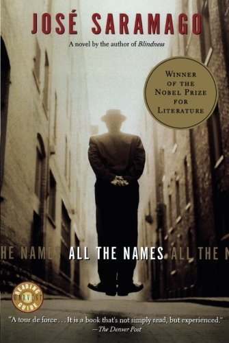 Jose Saramago All The Names