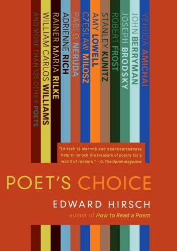Edward Hirsch Poet's Choice