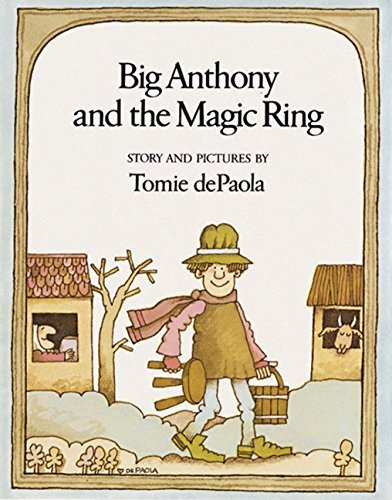 Tomie Depaola Big Anthony And The Magic Ring