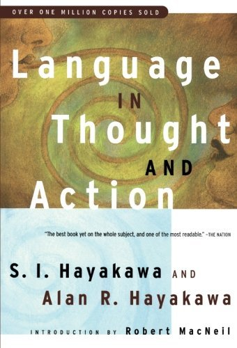 Samuel I. Hayakawa Language In Thought And Action Fifth Edition 0005 Edition;