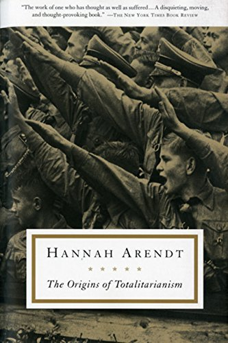 Hannah Arendt The Origins Of Totalitarianism