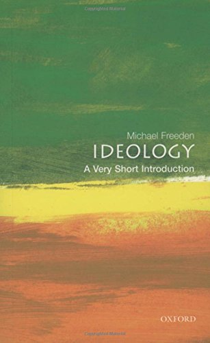Michael Freeden Ideology A Very Short Introduction