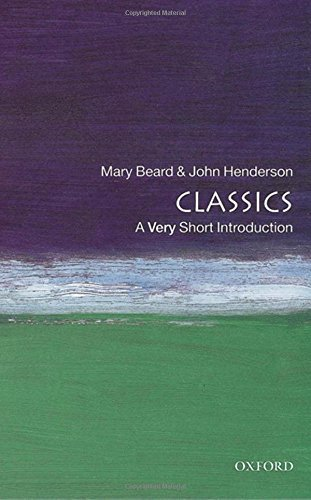 Mary Beard Classics A Very Short Introduction Revised