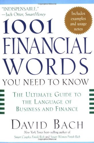 David Bach 1001 Financial Words You Need To Know