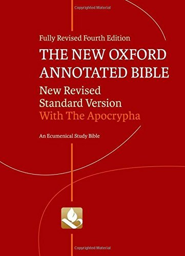 Michael D. Coogan New Oxford Annotated Bible Nrsv College 0004 Edition;