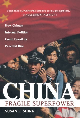 Susan L. Shirk China Fragile Superpower