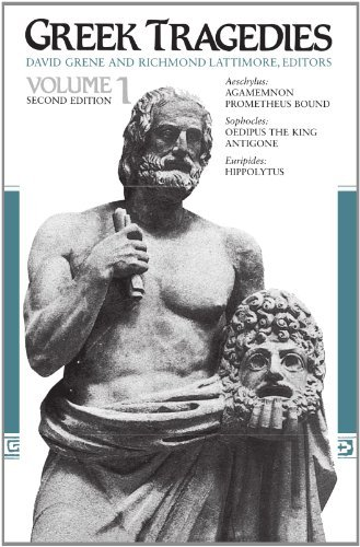 David Grene Greek Tragedies Volume 1 0002 Edition;