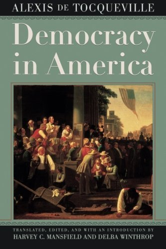Alexis De Tocqueville Democracy In America 0002 Edition;